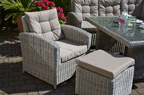 ᐅᐅ Ecklounge Manhattan Ecksofa Links Tisch Sessel Hocker