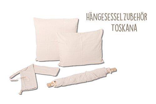 Hängesessel in unterschiedlichen Farben von HOBEA-Germany, Größe Hängesessel:L (bis 120kg belastbar);Farben Hängesessel:Toskana - 3