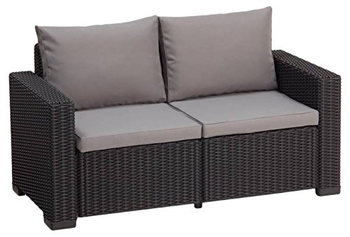 Allibert Lounge California Sofa, graphit/panama cool grau, 141 x 68 x 72 cm, 233051 - 2