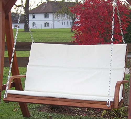 Design Bank aus Holz Lärche für Hollywoodschaukel 2-Sitzer KUREDO (ohne GESTELL!!!) von AS-S - 2